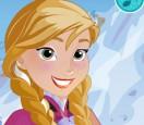 Холодное сердце сделай морозный макияж Анне