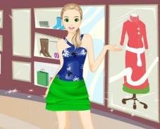 Модница идет по магазинам