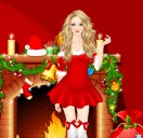 Одень Тейлор Свифт на Рождество