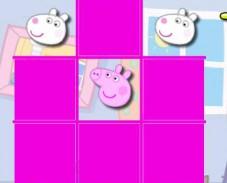 Свинка Пеппа Крестики-нолики
