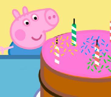 Свинка Пеппа на празднике пазл