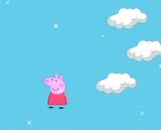 Свинка Пеппа прыгает