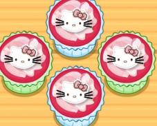 Hello Kitty Apples And Banana Cupcakes