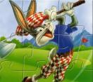 Багз Банни игра в гольф пазл