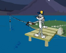 Багз Банни рыбалка