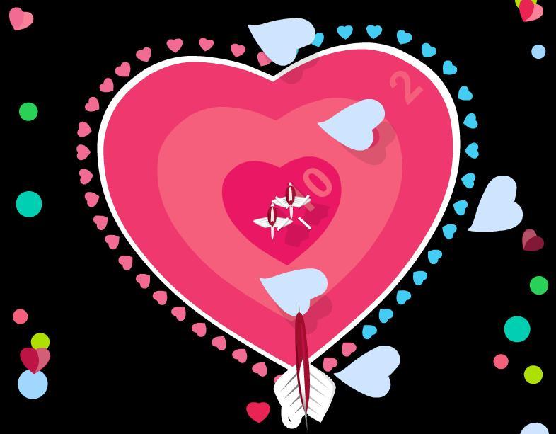 Дартс Святого Валентина