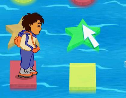 Диего прыгает по льдинам