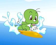 Дули и серфинг