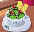 Кухня Сары Зеленое мороженное