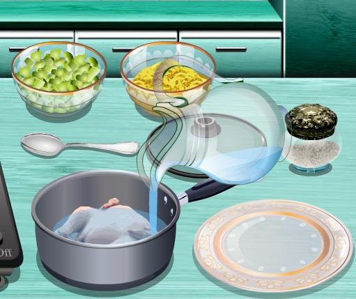 Кухня Сары Куриный суп с клецками