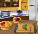 Кухня Сары Лепешки с курицей