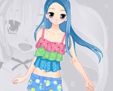 Одевалка аниме девушки
