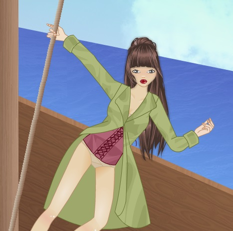 Одевалка пиратка