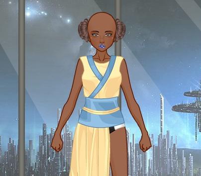Одевалка Sci-Fi geek