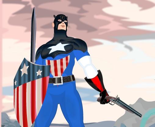 Одень Капитана Америку
