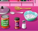 Кухня Сары Пицца на день влюбленных