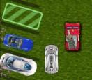 Поу паркует авто