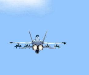 F A-18 Hornet Air Force