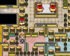 Бургер пакман