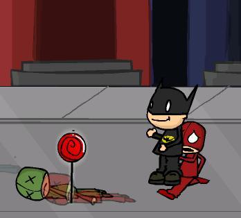 Бэтмен и злодеи