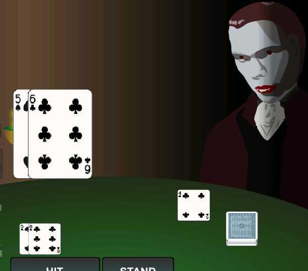 Blackjack с вампиром