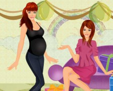 Беременная подружка