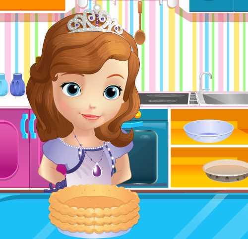 София Прекрасная готовит пирог