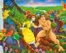 Тарзан и Джейн пазл