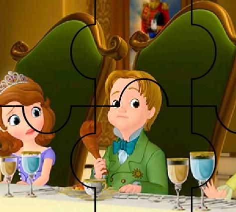 Ужин Софии пазл