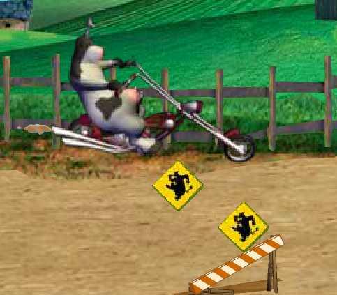 Рога и Копыта на мотоцикле
