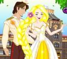 Свадебный наряд Рапунцель