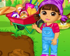Даша в саду