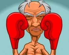 Бокс с дедулей 2