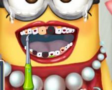 Больные зубы миньона