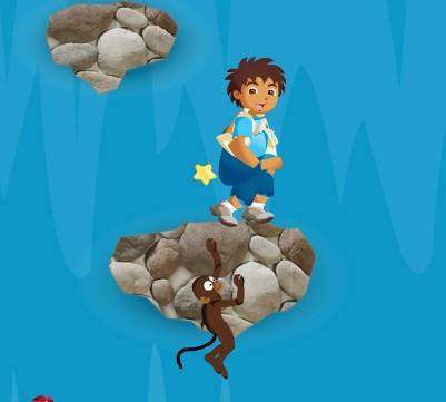 Диего прыгает