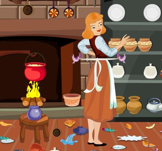 Золушка на кухне