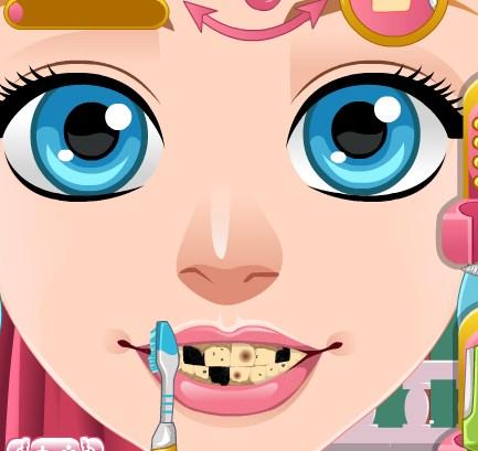 Золушка у зубного