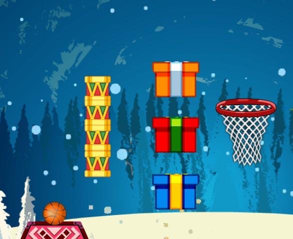 Новогодний баскетбол
