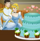 Торт на свадьбу Золушки