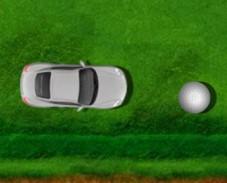 Гольф на машине
