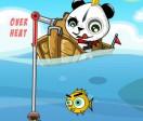 Панда рыбалка