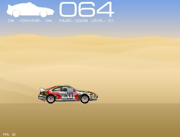 Игра Ралли в пустыне онлайн