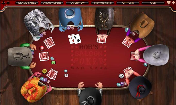 в играть техасский онлайн покер