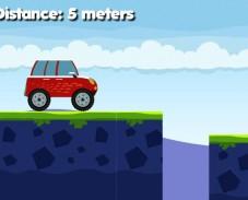 Игра Машина на мосту онлайн