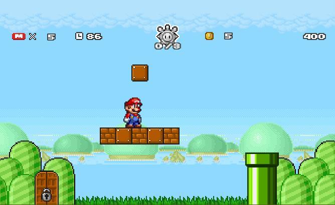 Игра Super Mario Star Scramble 2 онлайн