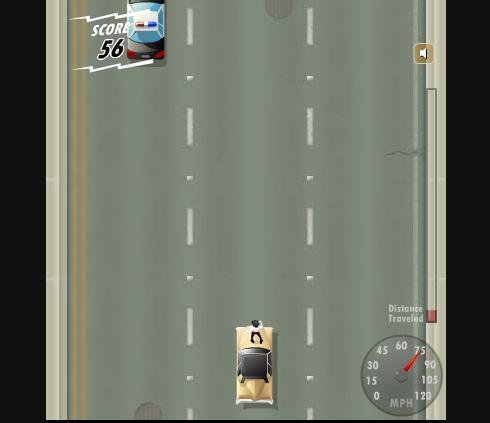 Игра Парень на Автостраде онлайн