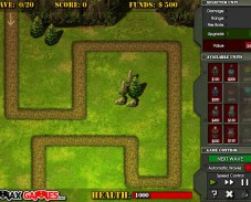 Игра Frontline defense онлайн