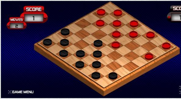 Игра Классические шашки онлайн