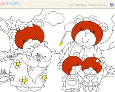Игра Раскраска мишки онлайн