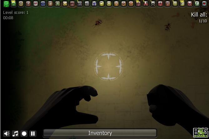 Игра Убить насекомых онлайн